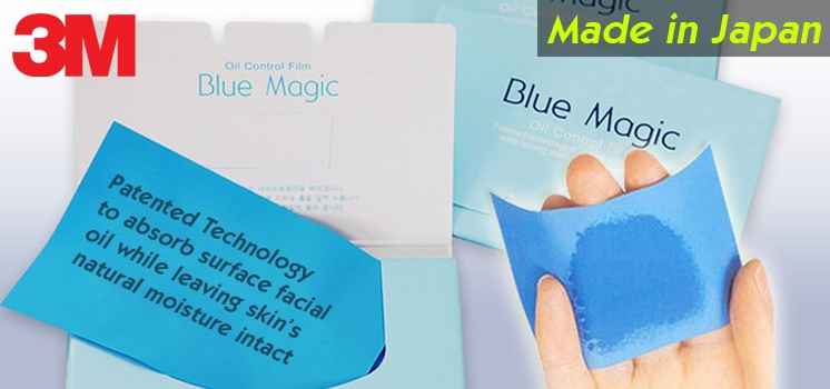 3M Blue Magic Oil Control Film from Japan (Blue Only)