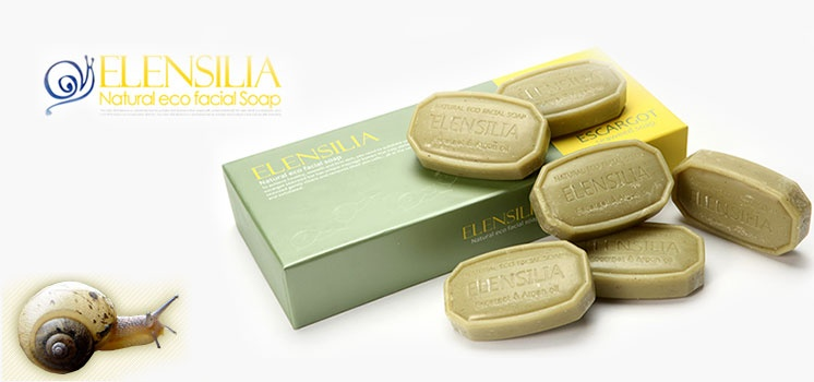Elensilia - Snail & Seaweed Soap (6 pcs per box) - New Stock