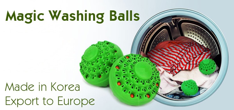 Magic Washing Balls (2 pcs per box)