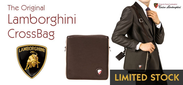 Lamborghini Cross Bag (Limited Stock)