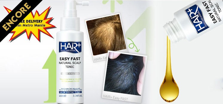 Encore: Easy Fast Natural Scalp Tonic for Hair Growth