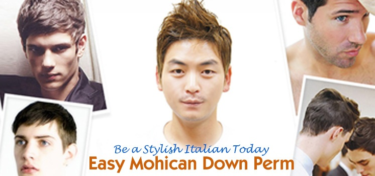 [Encore] Be a Stylish Italian Today! Use Down Perm!
