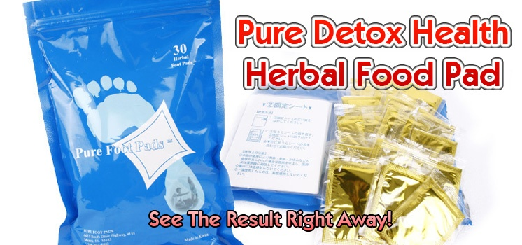 Pure Detox Health Herbal Food Pad (30pcs/pack)