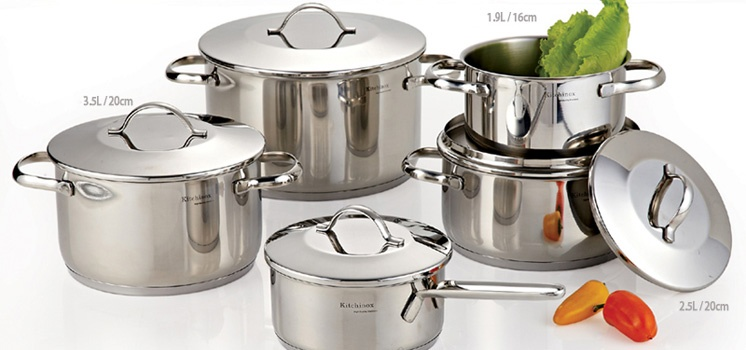 Kitchinox Premium Cooking Ware Set of 10