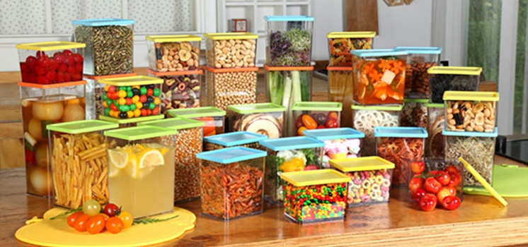 Sunrise Refrigerator Organizer Set of 36pcs