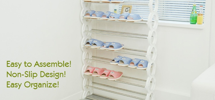 DIY 9-Layers Shoe Rack